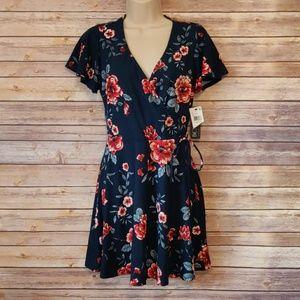 Juniors BCX Soft Knit Wrap Dress